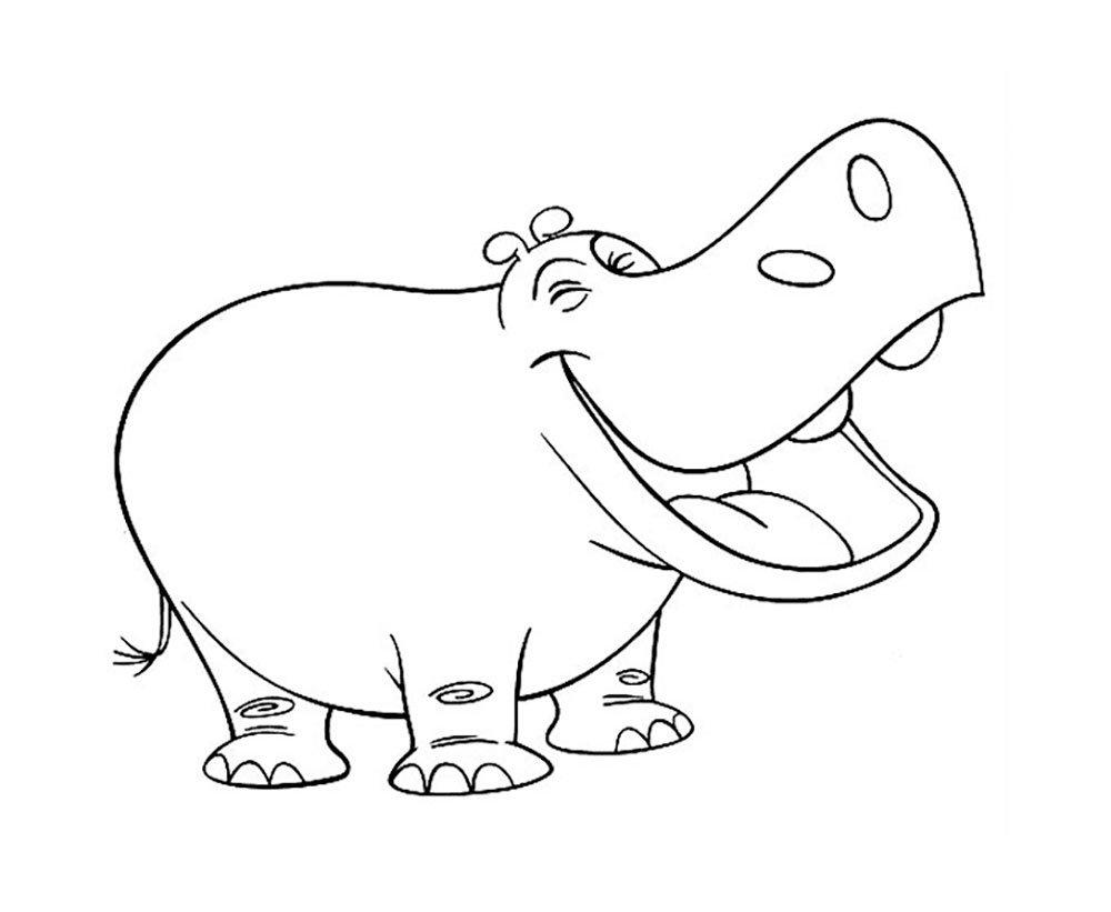 Домашних, животные смешные раскраска
