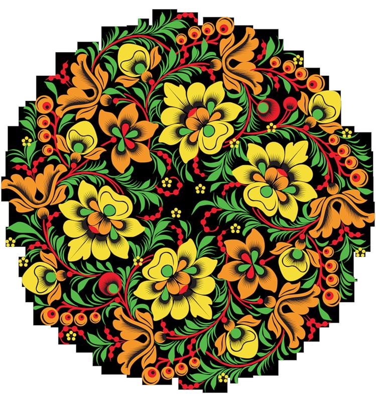 Русский орнамент картинки цветы, днем медсестры поздравления