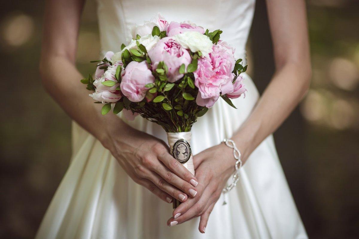 Фото свадебного букета невесты, цветов