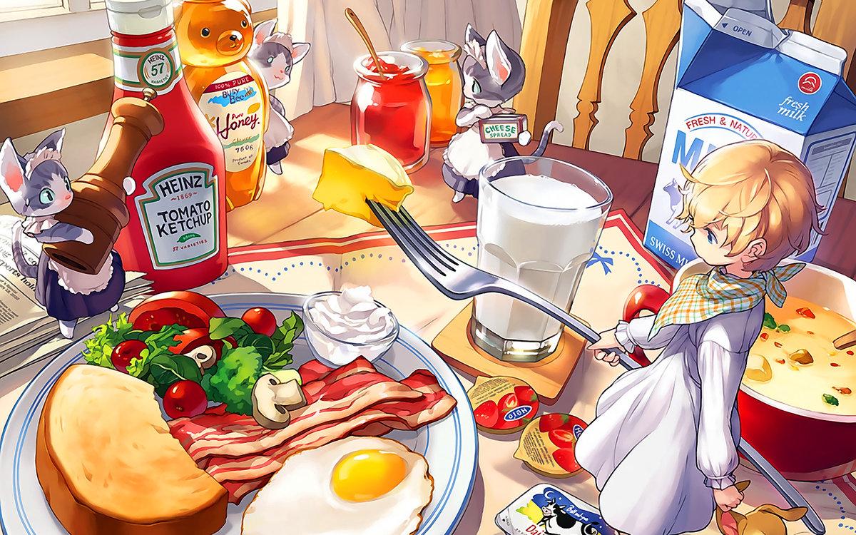 казуальные картинки еды низкой высоте при