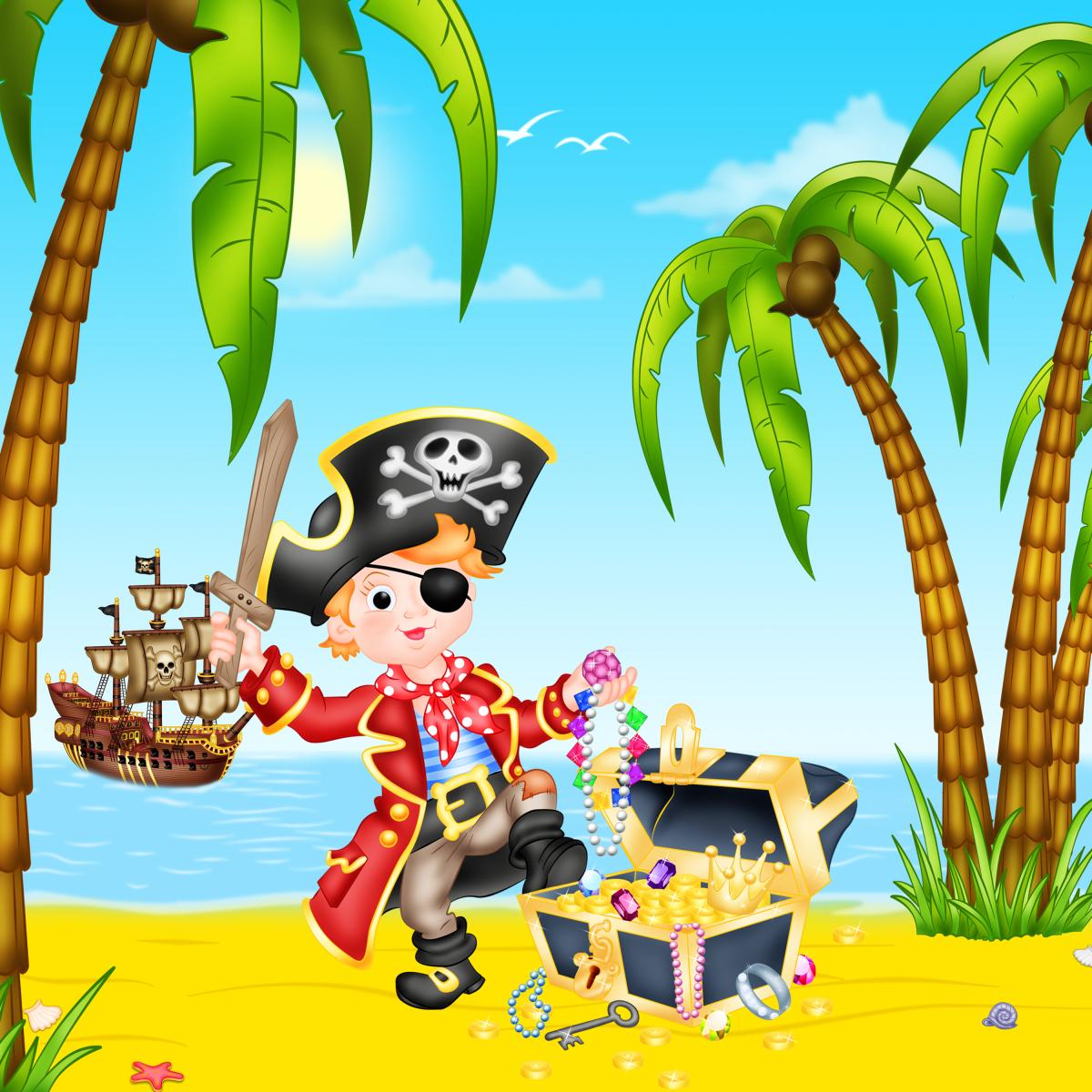 Картинки веселые пираты
