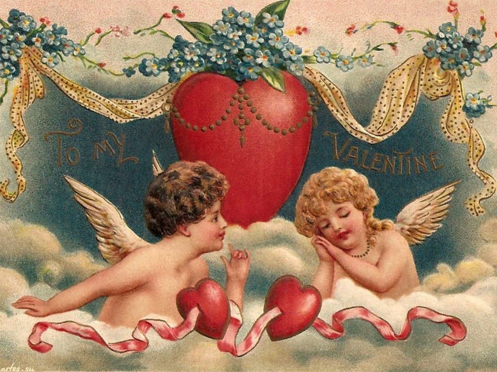 День, открытки любовь ангелы