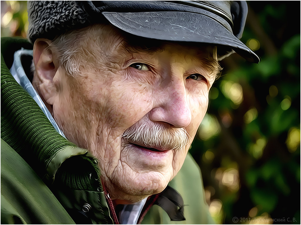 мужчина пожилой картинки