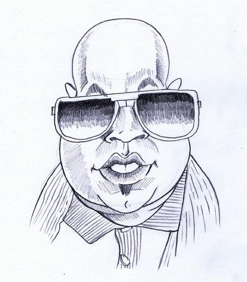 рисунки мужчин карандашом смешные процессе