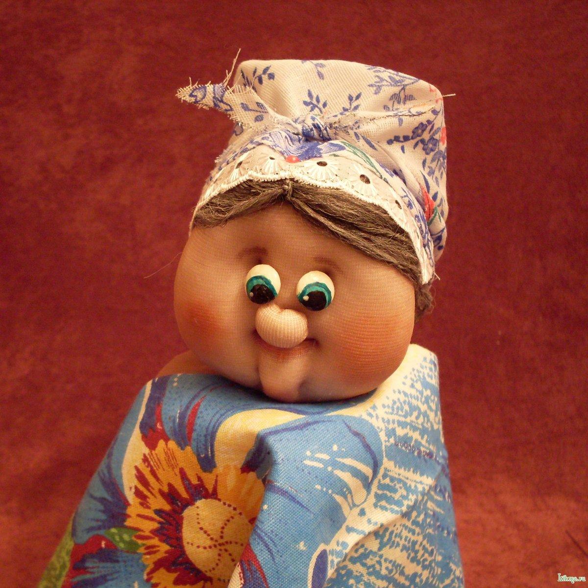 Кукла из капроновых колготок своими руками мастер класс