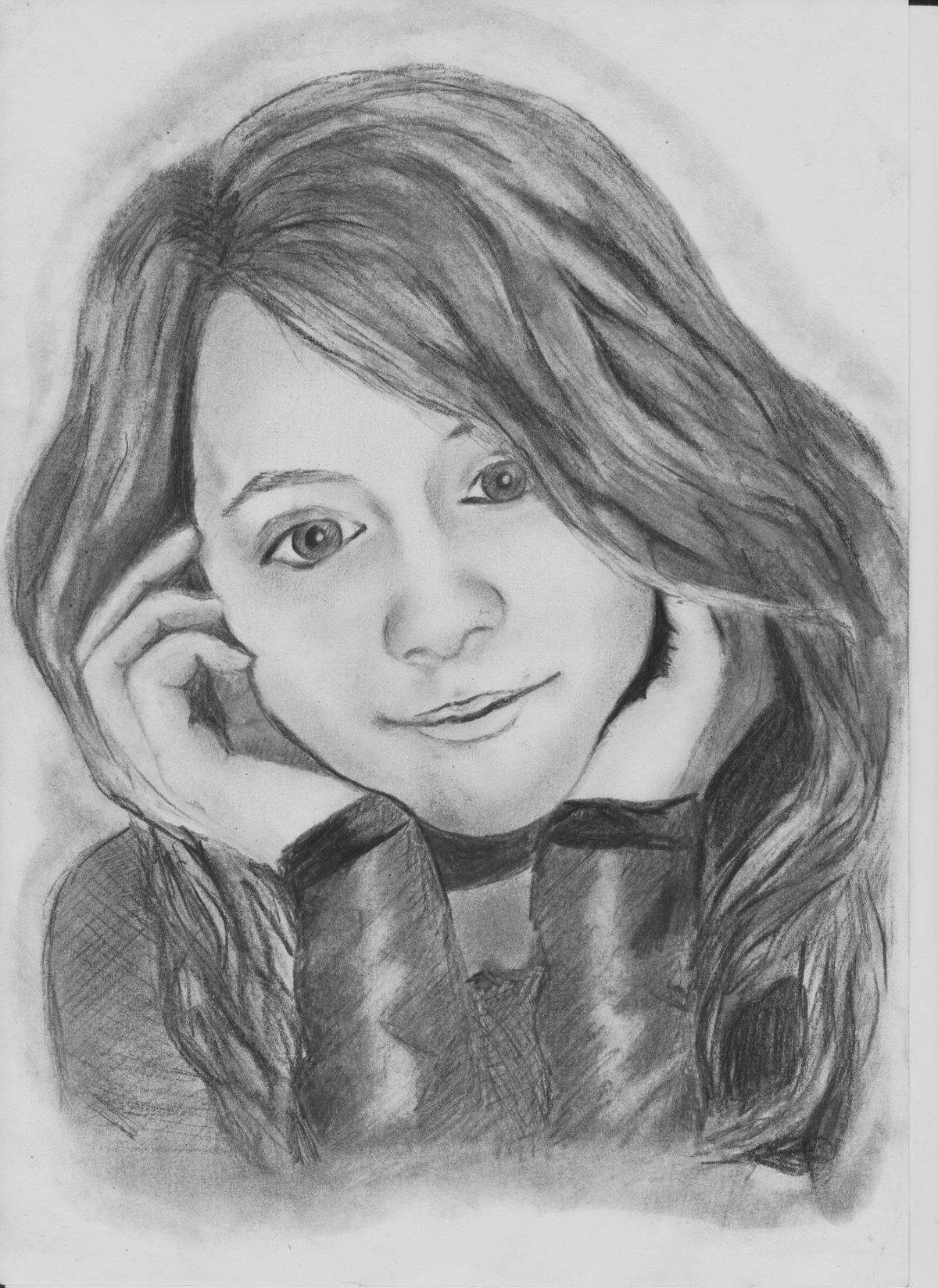 мои рисунки людей картинки молью