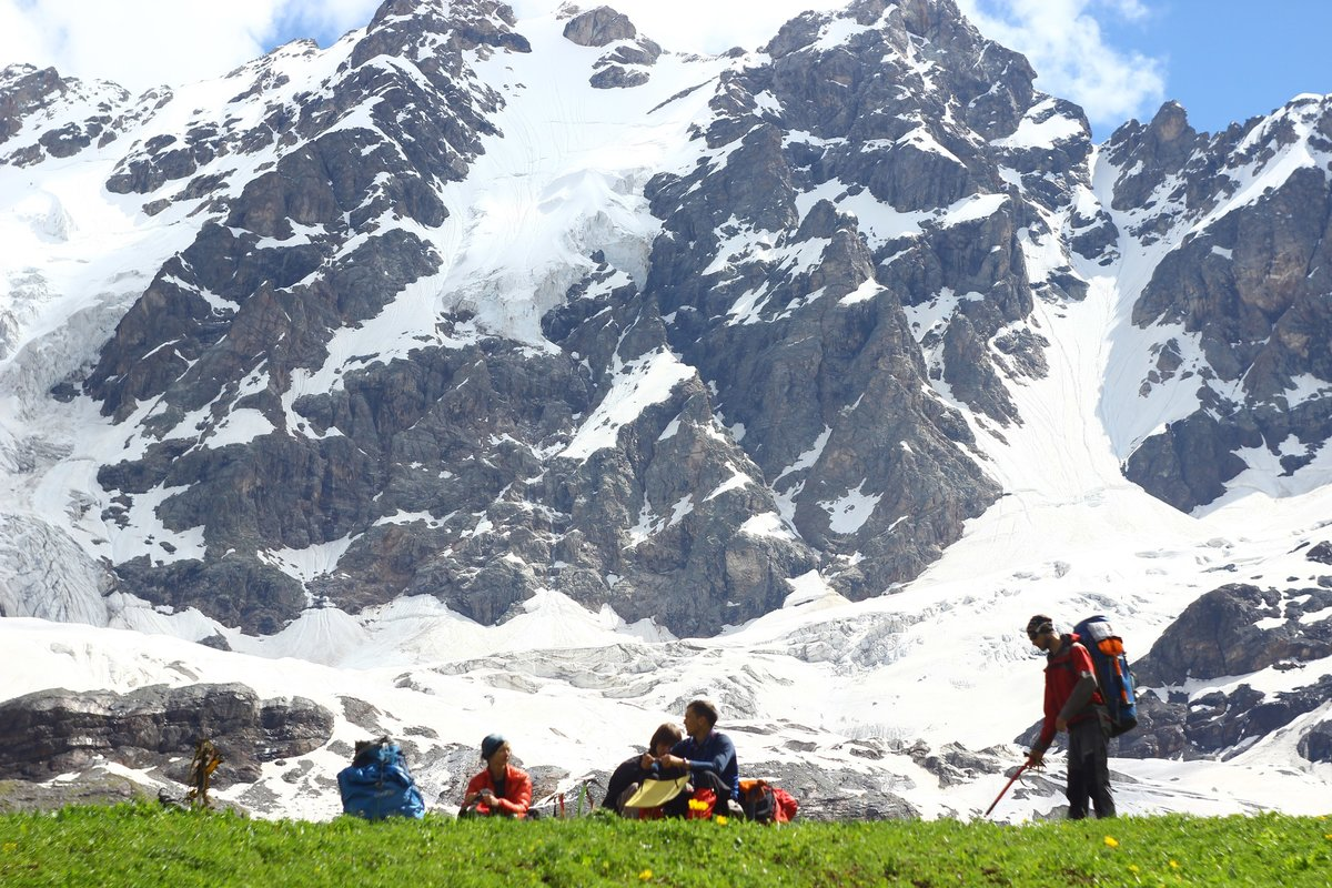 местная картинки про горный туризм печку теплее