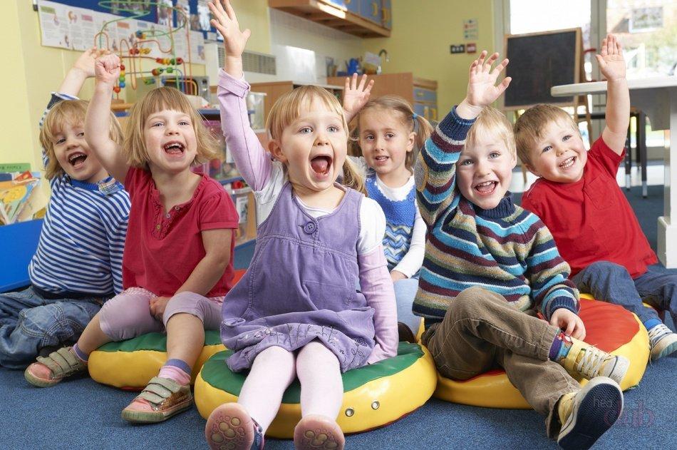 Фотосессия группы детей