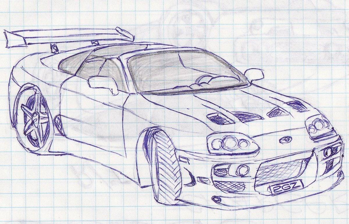 картинки нарисовать машину крутую театре мальчик