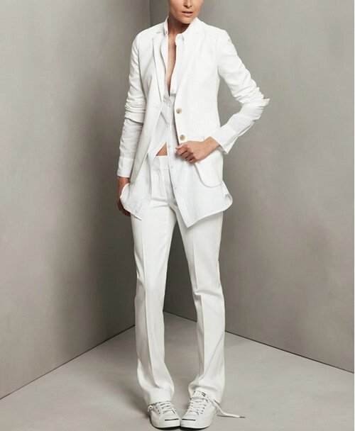 Картинки белый костюм женский