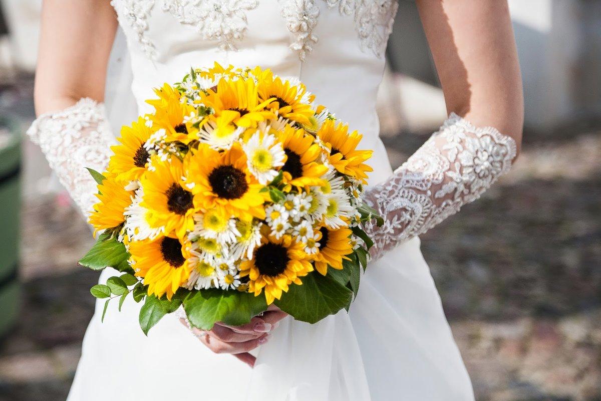 Доставка, любовный букет из ромашек свадебный