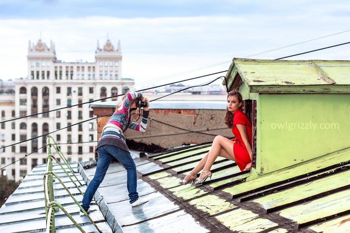 в чем фотографироваться на крыше если столкнетесь какими-то