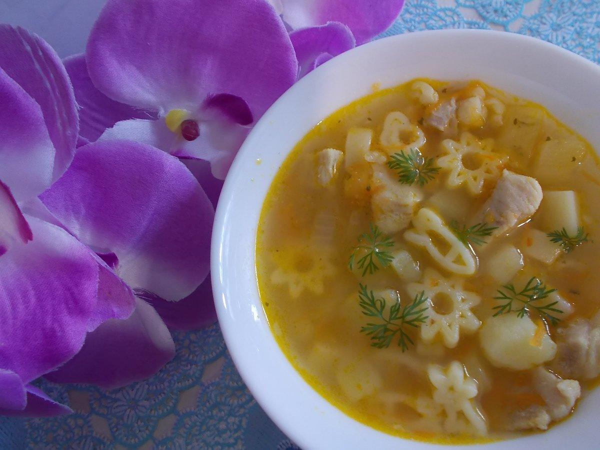 Супы для детей рецепты