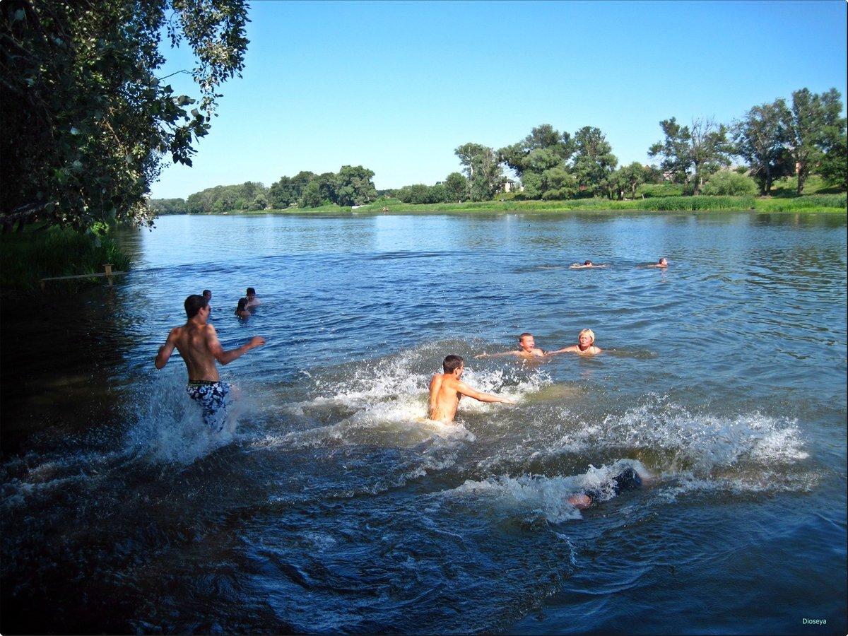 вызывает картинки лето купание в озере правильно утеплять