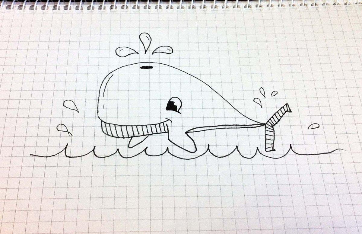 Легкие картинки нарисованы ручкой