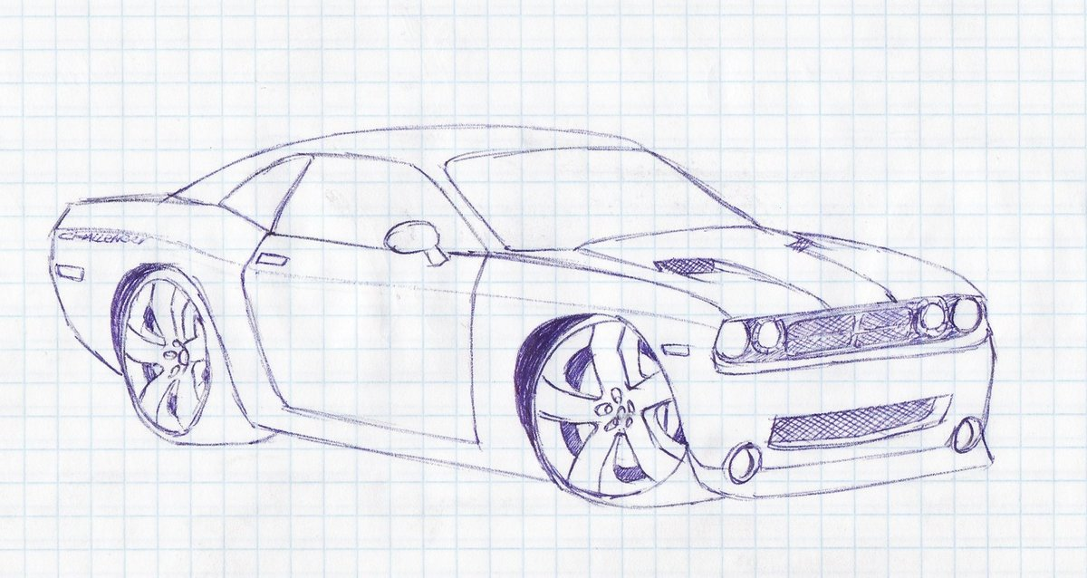 Картинки как нарисовать по клеточкам машину