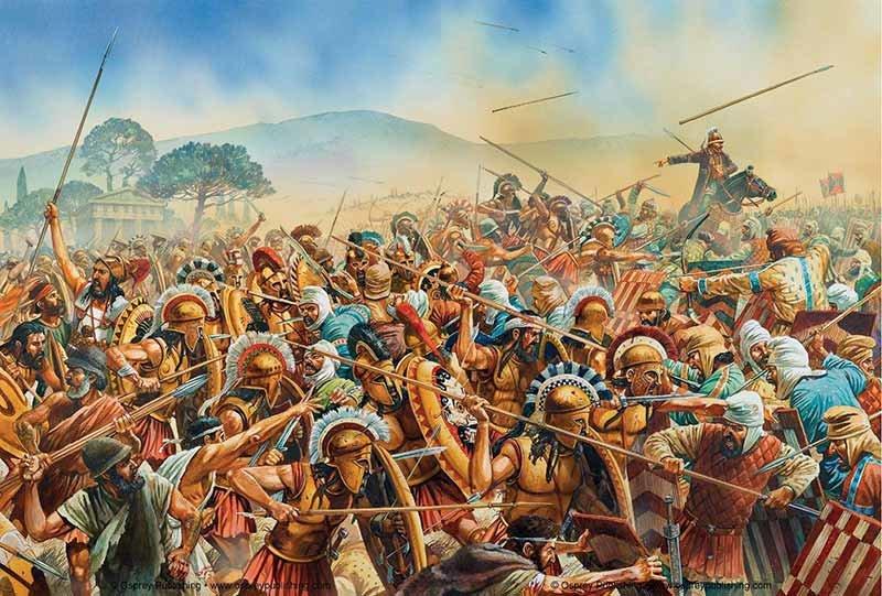 Мир сражений в древности #9