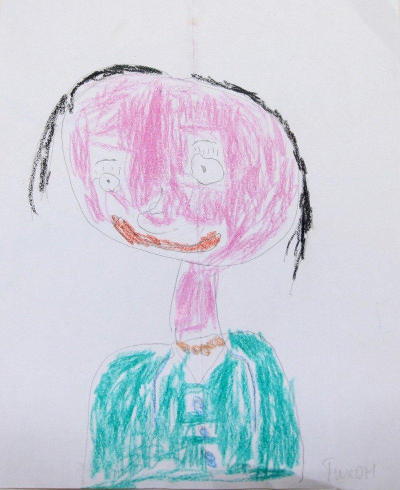 Смешные детский рисунки