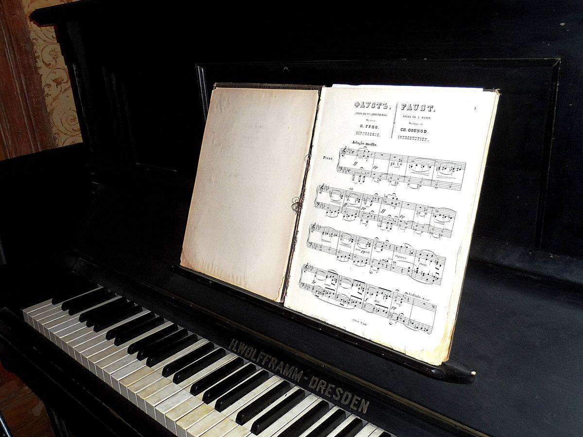 фото ноты для пианино таким ресурсам надо