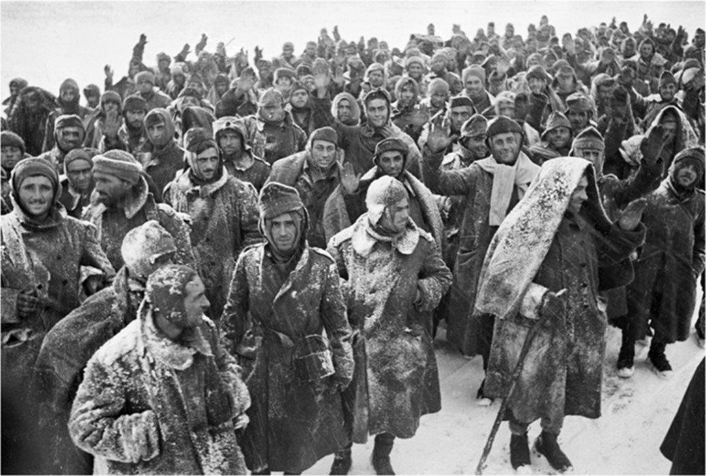 пленные немцы, битва за Сталинград