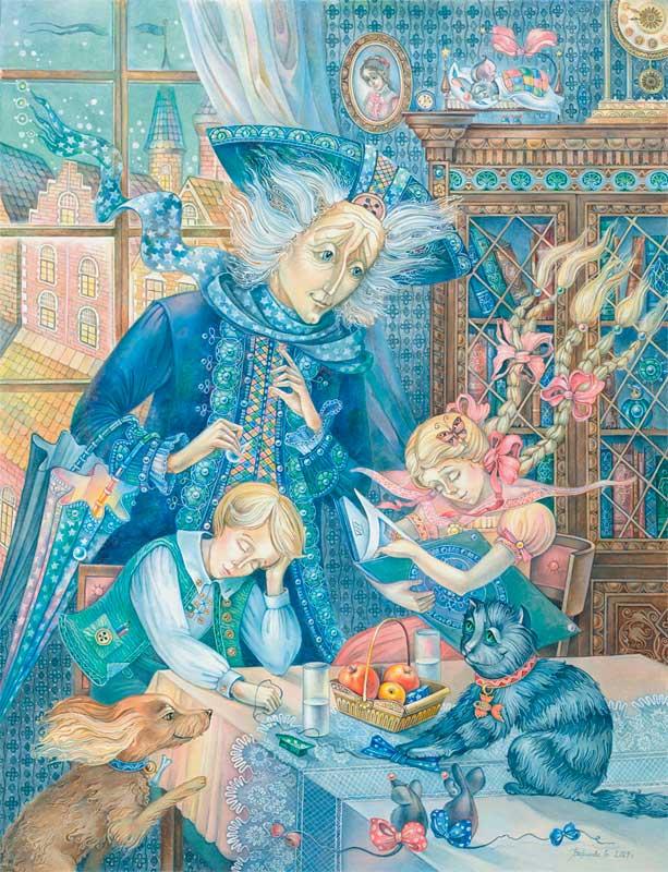 Сказки андерсона и рисунки к сказкам