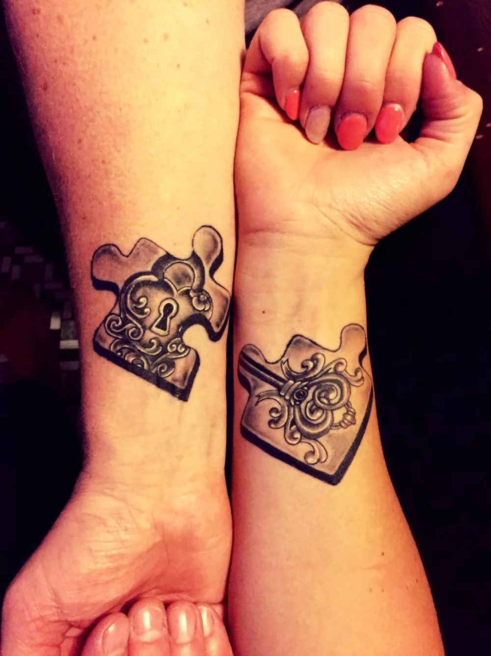 couples matching tattoos - HD 830×1107
