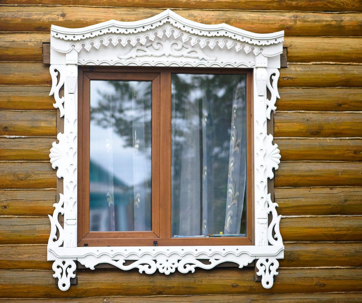 Обналичка окон в доме в картинках