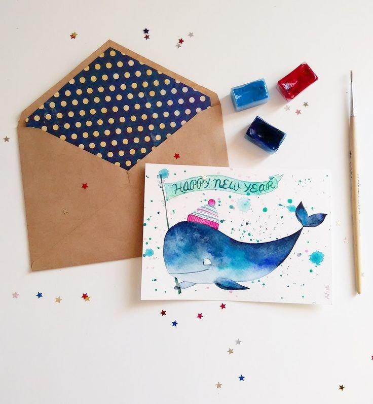Открытки днем, открытки необычные нарисованные