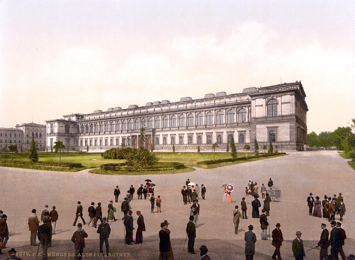 7 апреля 1826 года в Мюнхене заложено здание пинакотеки