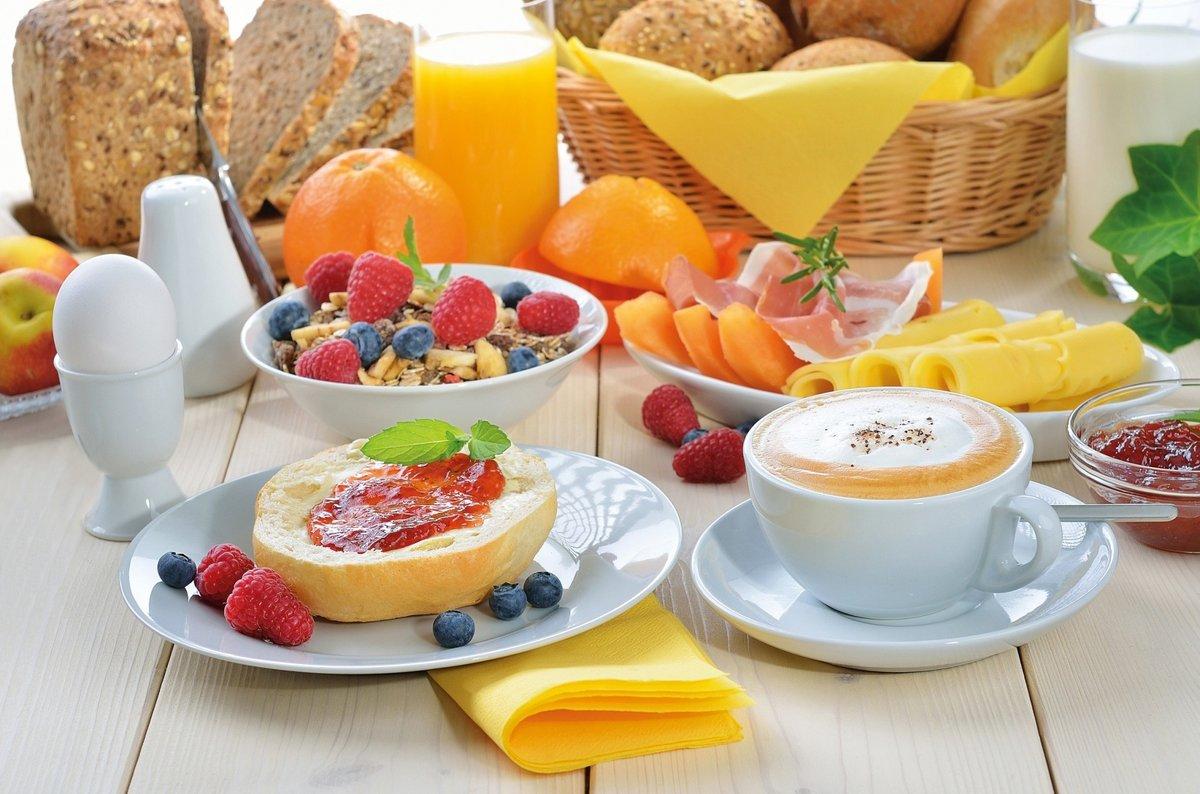 Красивые картинки завтрака с добрым утром