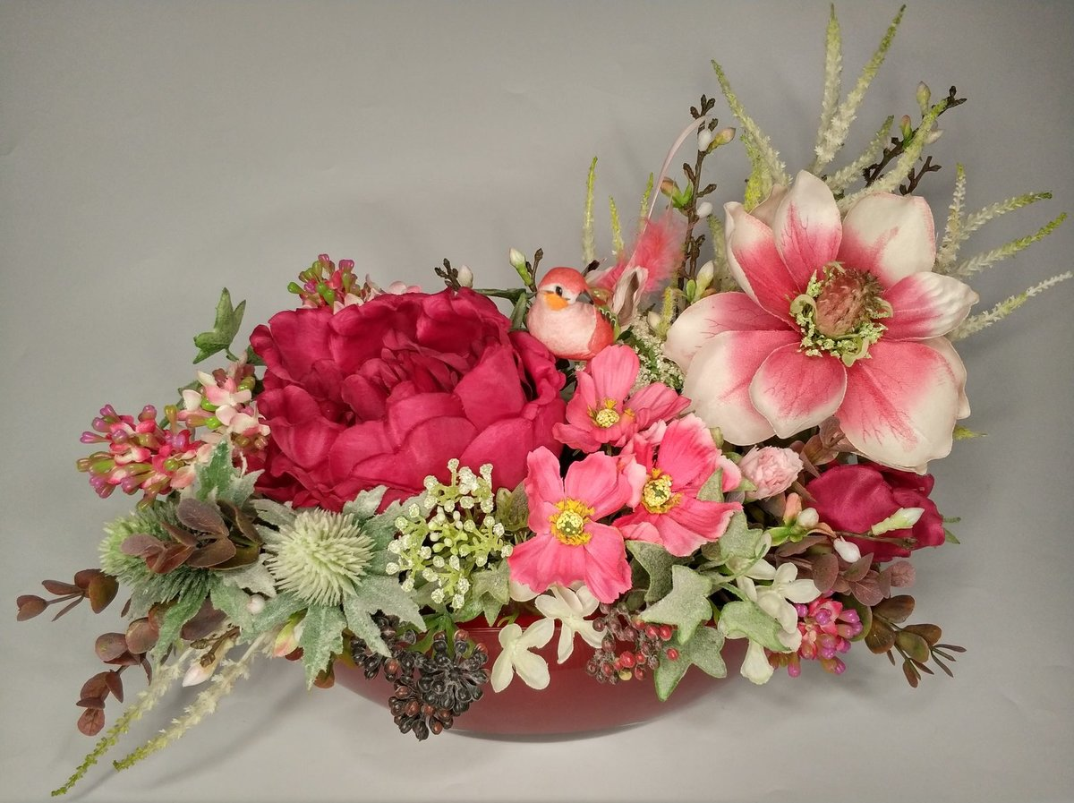 декоративные букеты из искусственных цветов другая