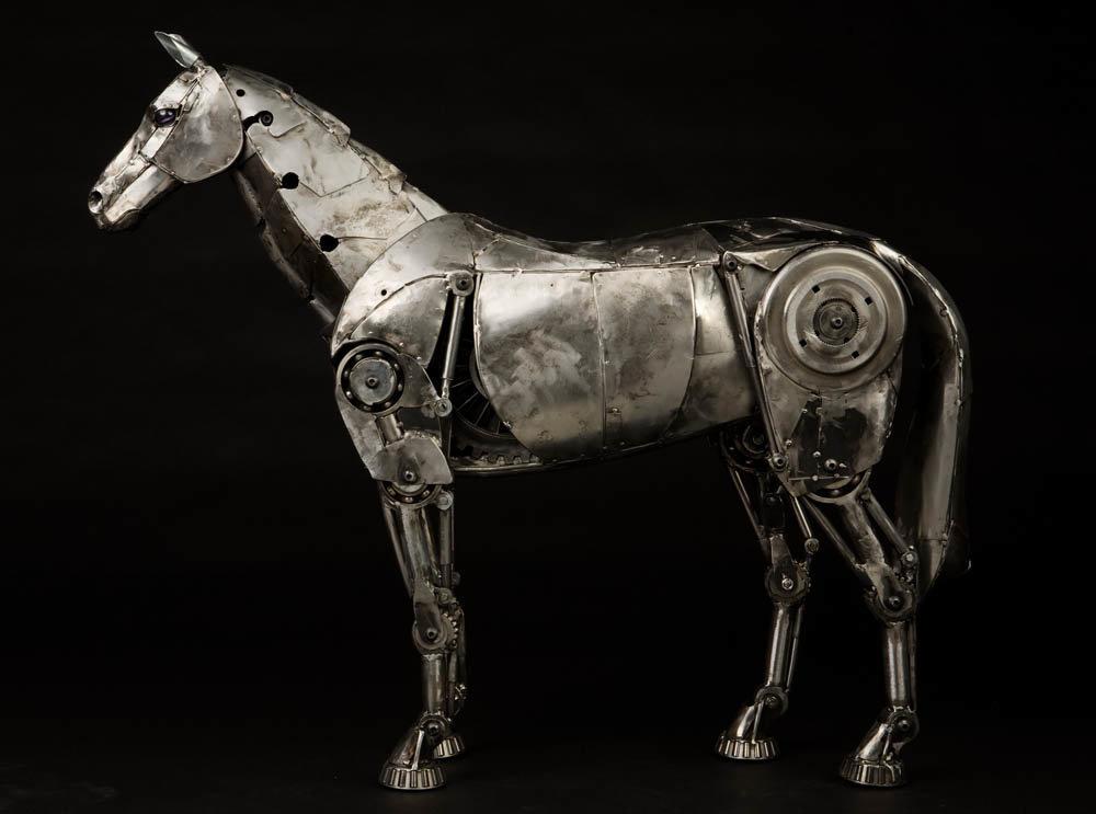 пожалуйста, картинки лошадь железная назвать