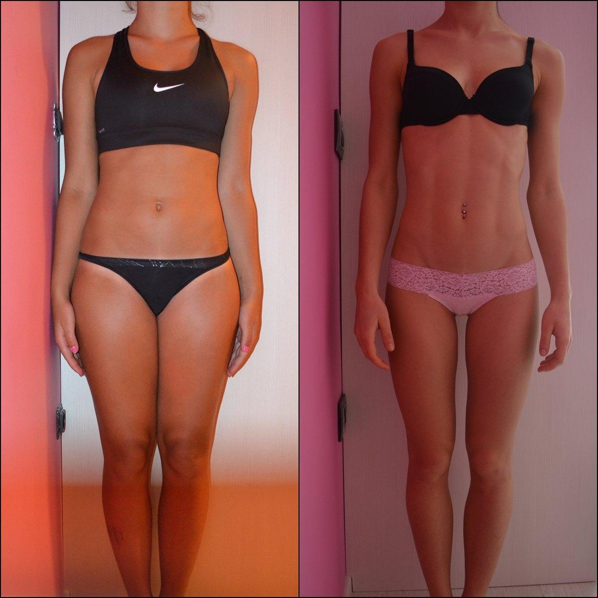 через сколько можно увидеть результат похудения