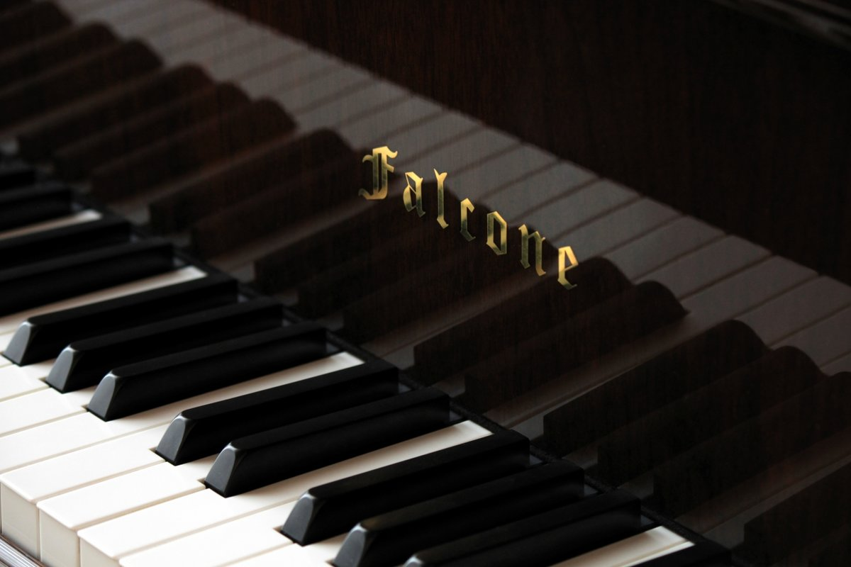 фото красивых клавиш пианино кольцо паутине