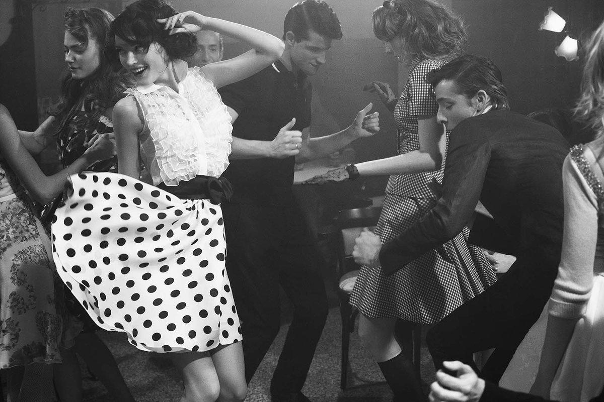 Ретро танцы картинки