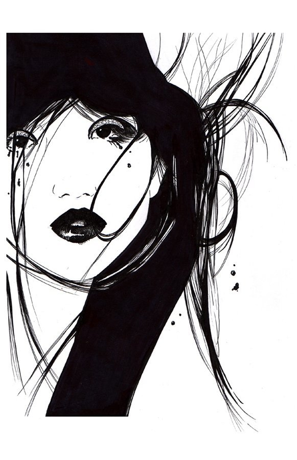 Картинки только нарисованые черным и все