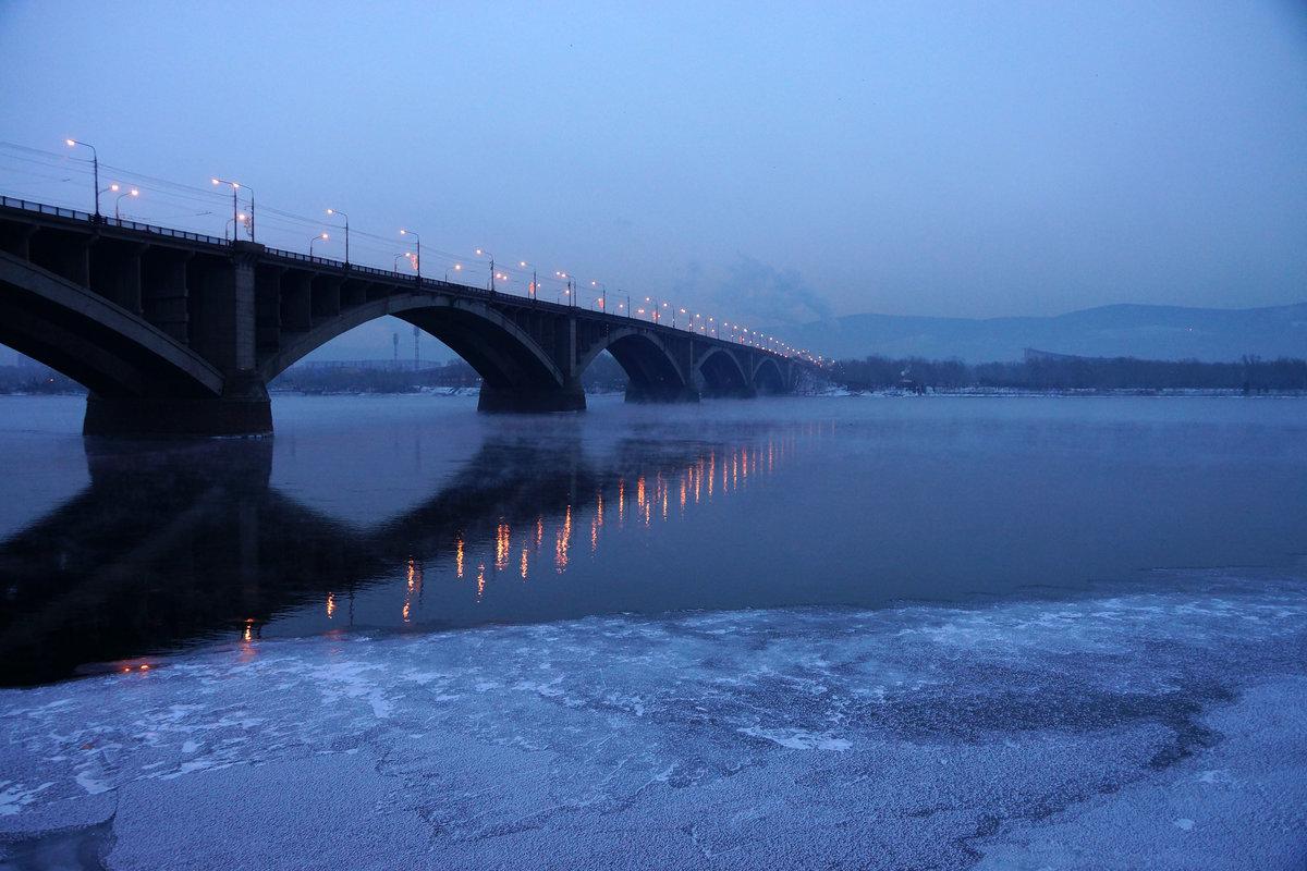 потере картинки красноярского моста москве