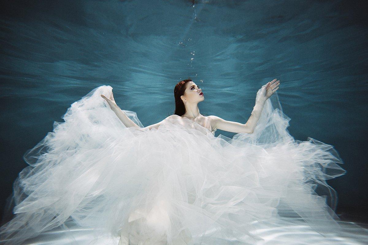 Фотосессия с водой в студии москва