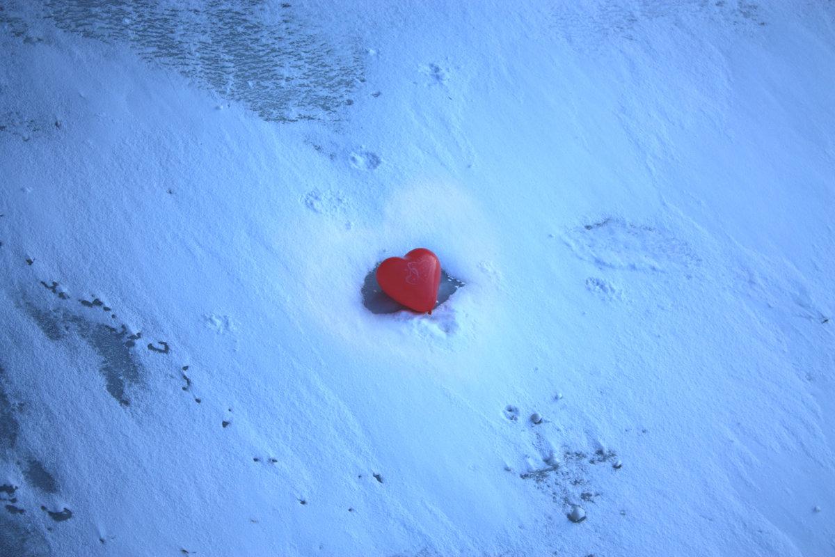 фото ледяное сердце как лед норманов полученных