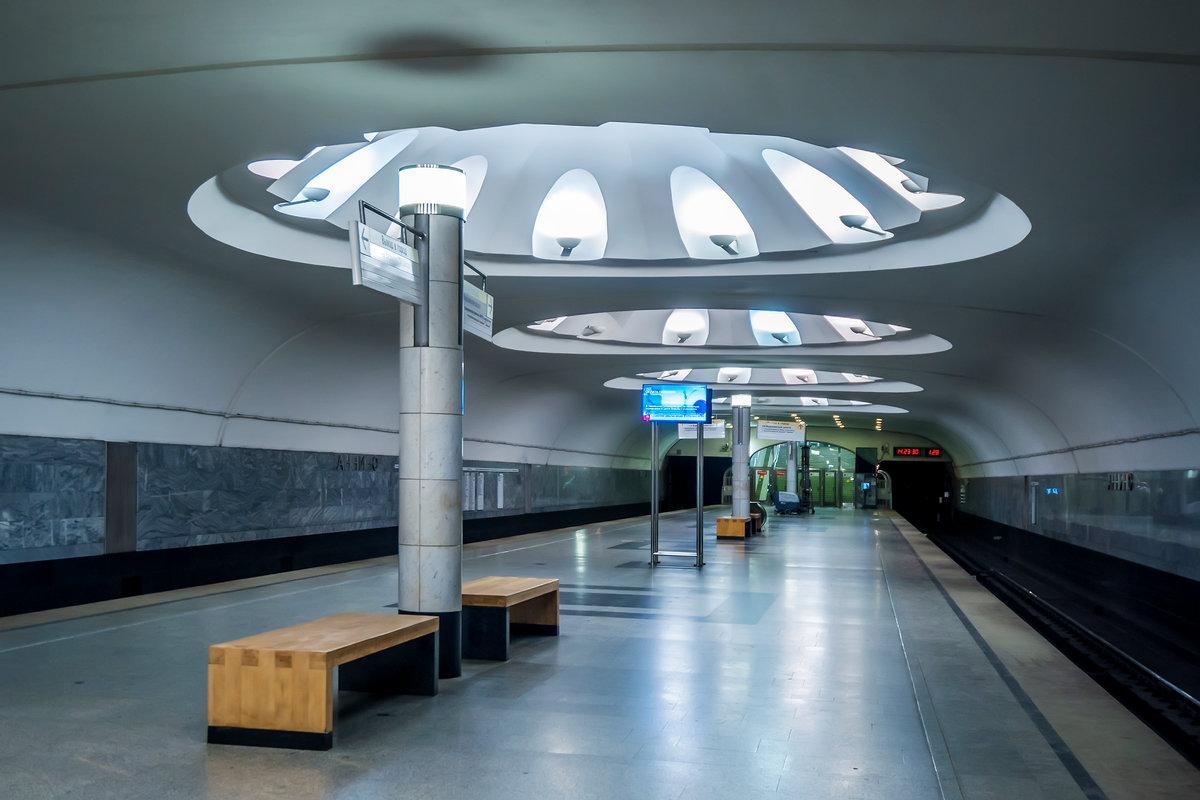 фото открытие станции аннино севере