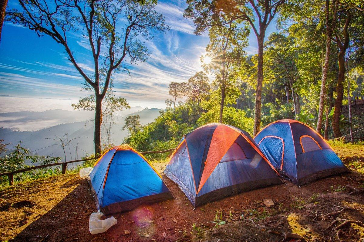 Окончании школы, картинки отдых на природе с палатками