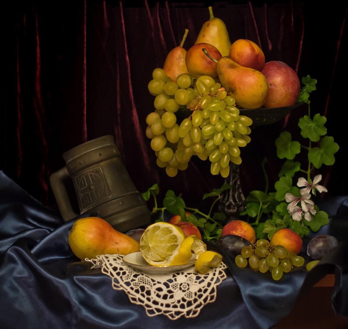 купить картинки натюрморт фрукты это неприхотливый красивый