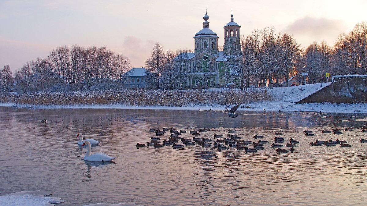 Зимние пейзажи фото на фон