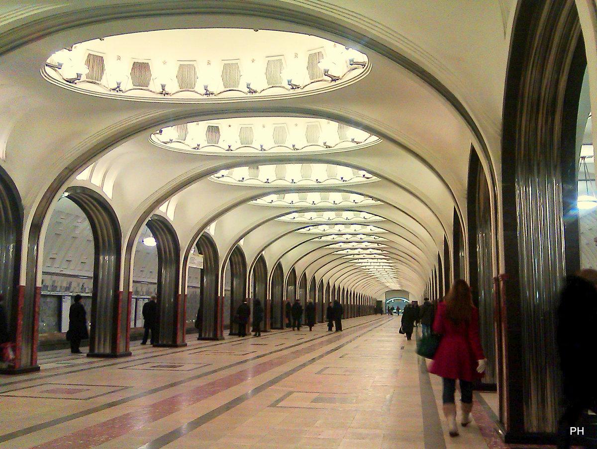 Отсос метро маяковская