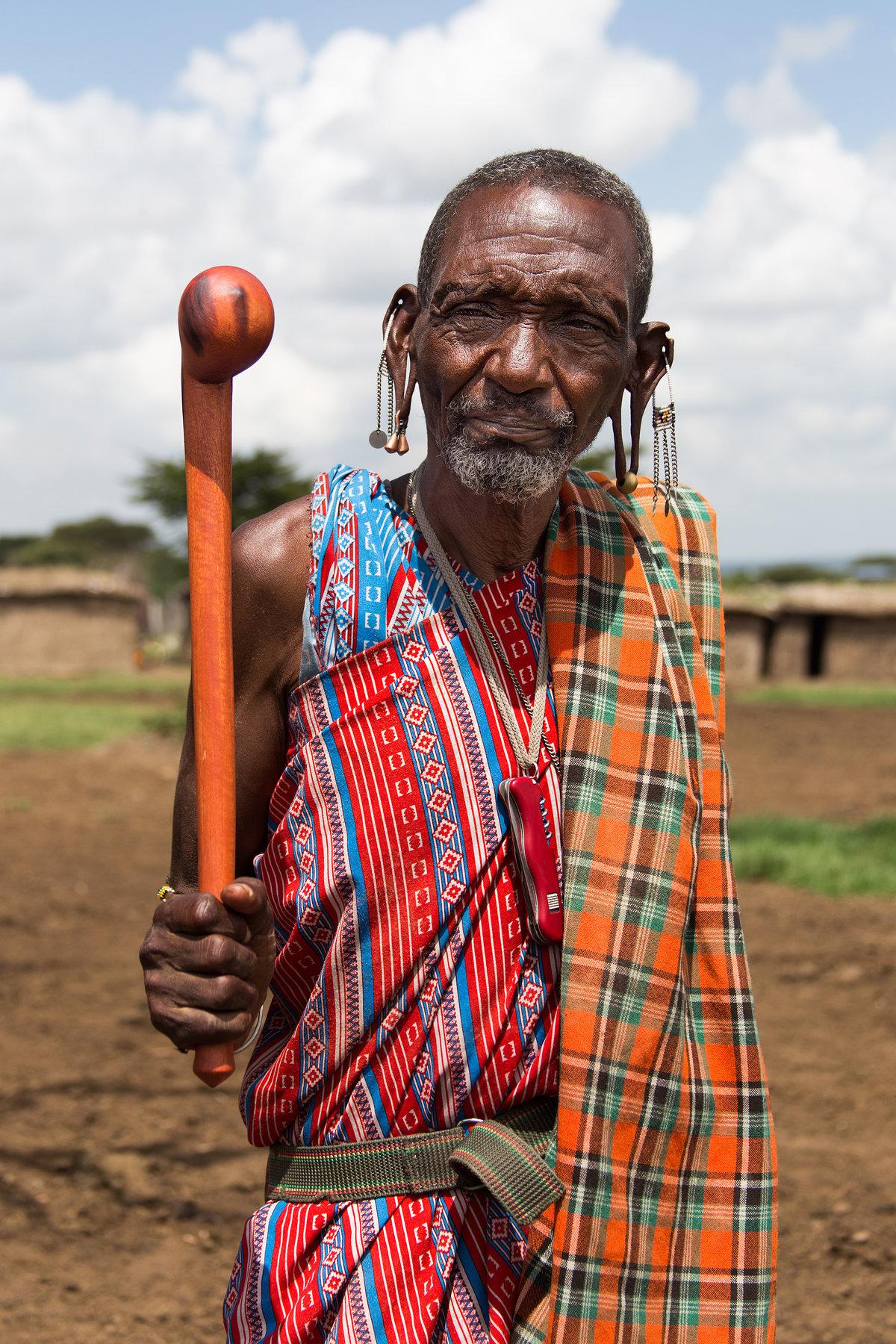 Мужчина из племени Масаи #африка #кения #масаи #мужчина