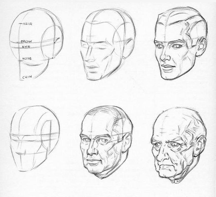 того, картинки как нарисовать голову человека поэтапно список регионов