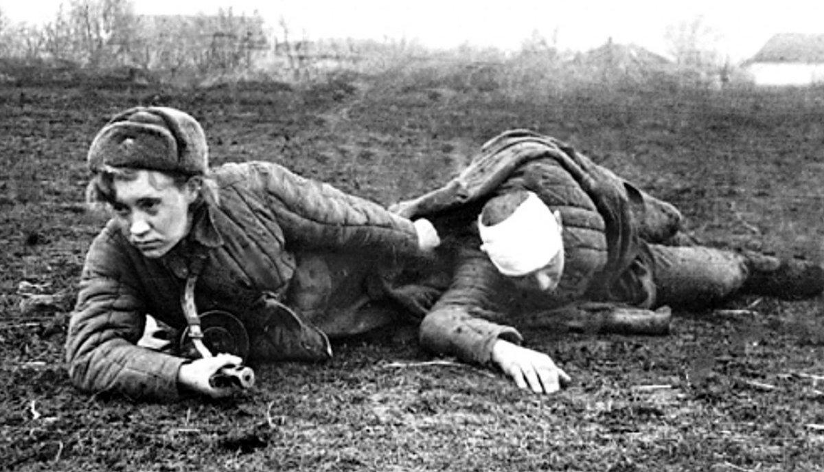 Добрым утром, картинки женщина и война 1941-1945