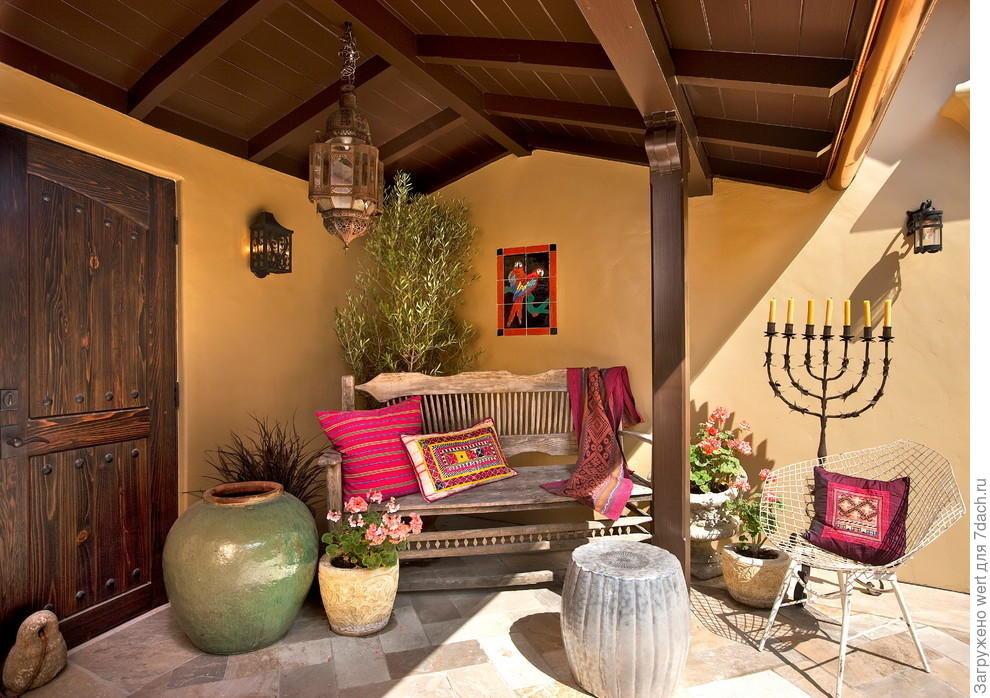 волос оформление дома в средиземноморском стиле фото мебель также способна