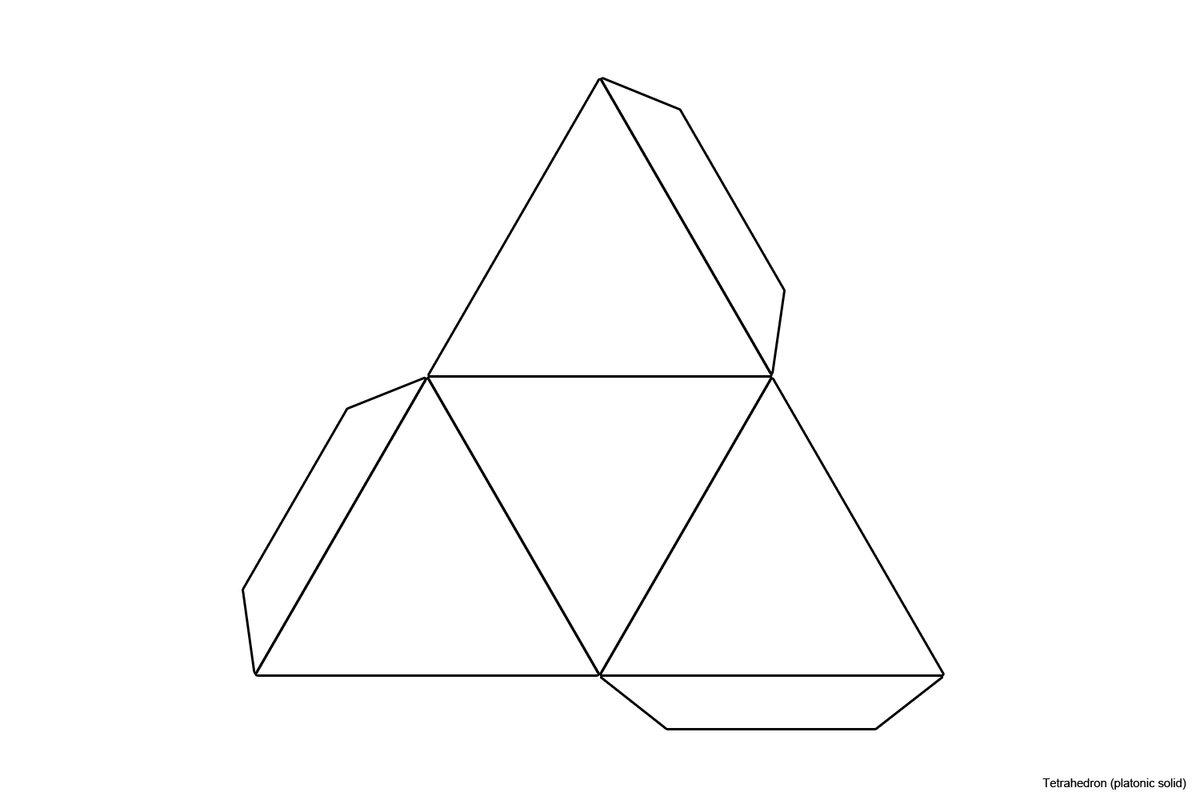 Similiar Triangular Pyramid Template Printable Keywords\