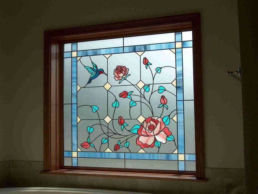 Дизайн картинки для стекла